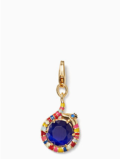how charming snake charm by kate spade new york