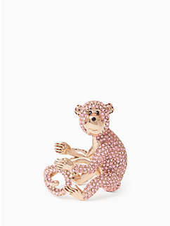 rambling roses monkey ring by kate spade new york