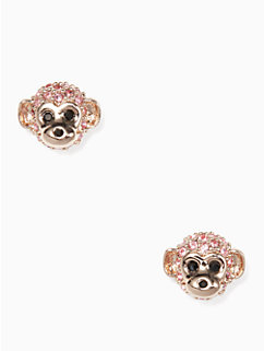 rambling roses monkey studs by kate spade new york