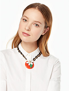 citrus crush short necklace by kate spade new york