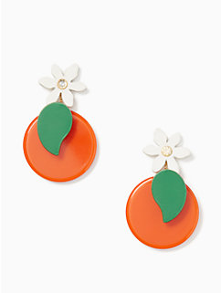 citrus crush statement earrings by kate spade new york