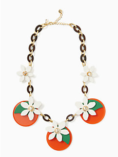 citrus crush statement necklace by kate spade new york
