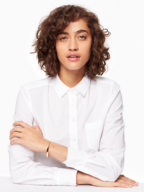 do the twist hinged bangle by kate spade new york
