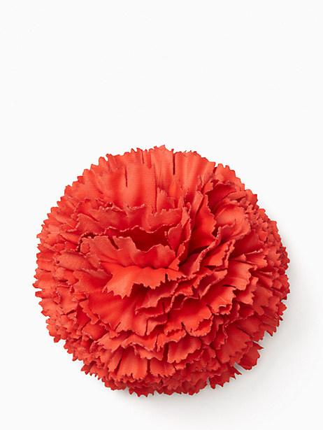 Kate Spade Fiesta Floral Flower Pin, Red