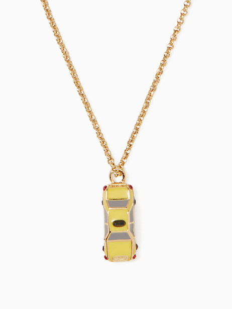 ma chérie taxi mini pendant by kate spade new york