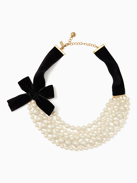 Kate Spade Girls In Pearls Necklace, Cream