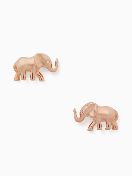 things we love elephant studs by kate spade new york