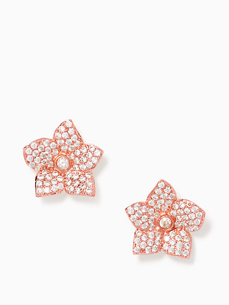 blooming pave studs by kate spade new york
