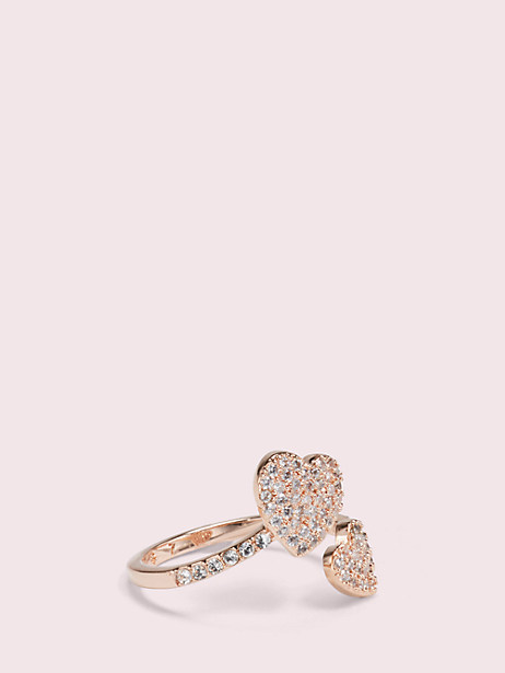 yours truly pave heart ring by kate spade new york