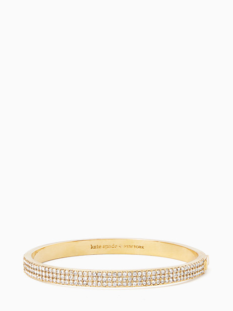 heavy metals pave row bangle by kate spade new york