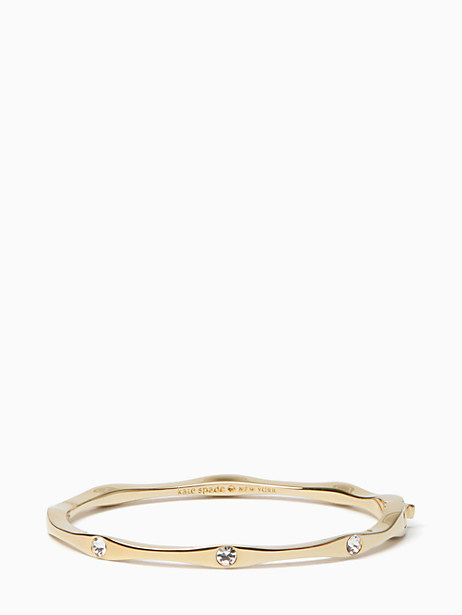 heavy metals wave bangle by kate spade new york