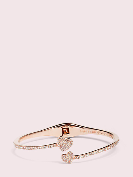 yours truly pave open hinge cuff by kate spade new york
