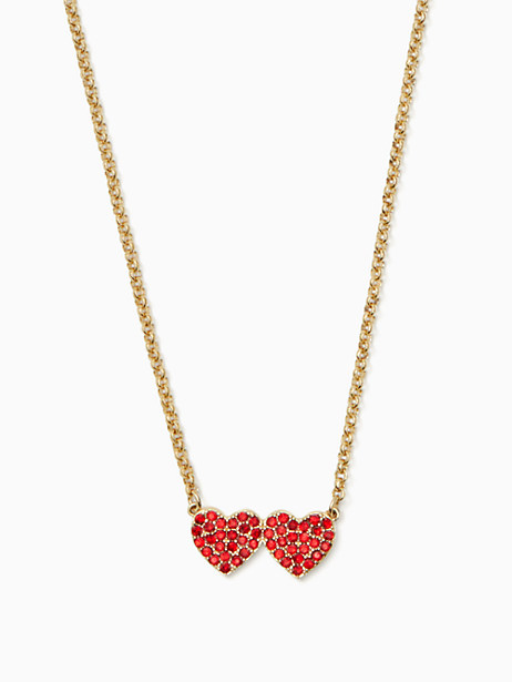 yours truly pave heart mini pendant by kate spade new york