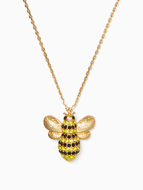 picnic perfect pave bee mini pendant by kate spade new york