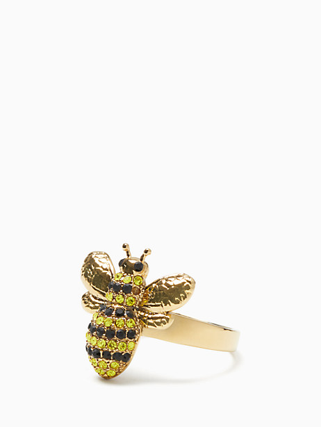 picnic perfect pave bee ring by kate spade new york