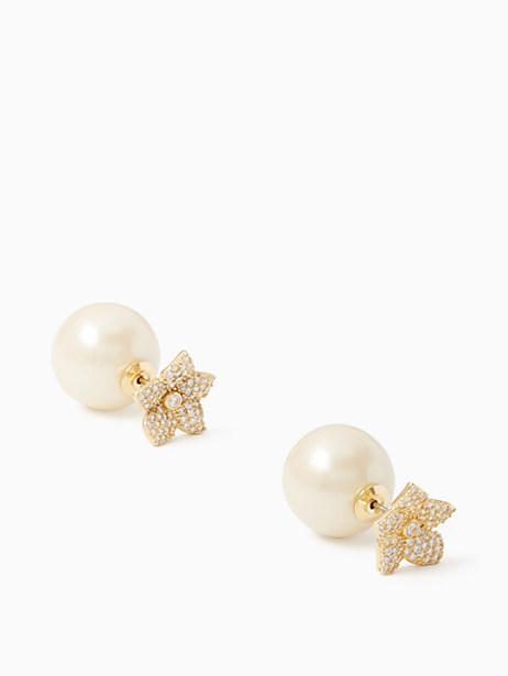 blooming pave reversible earrings by kate spade new york