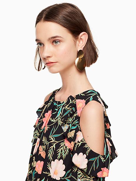 gold standard double drop earrings by kate spade new york
