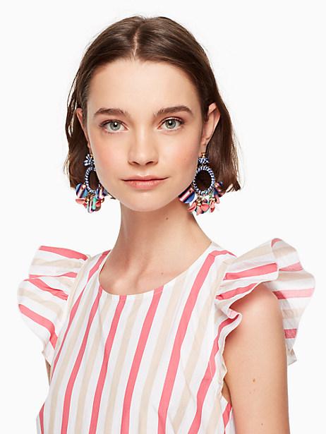 set sail statement hoop earrings by kate spade new york
