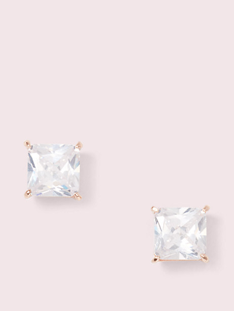 save the date princess cut studs by kate spade new york