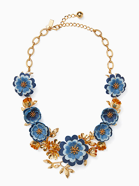 flower child statement necklace by kate spade new york