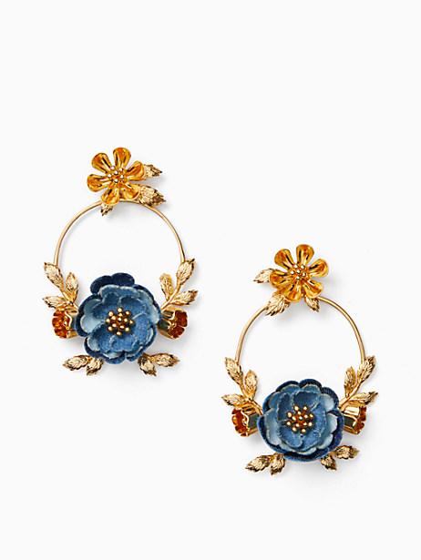 flower child door knocker earrings by kate spade new york