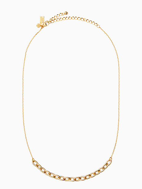 chain reaction link mini necklace by kate spade new york