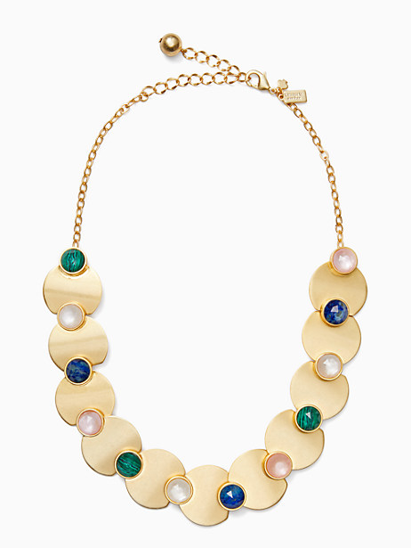 sunshine stones crew necklace by kate spade new york