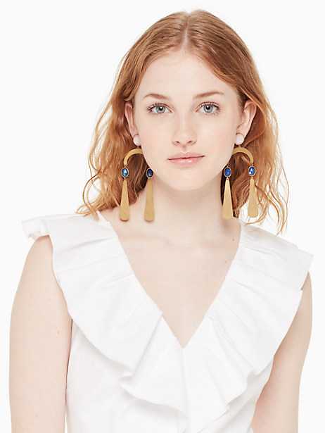 sunshine stones mobile statement earrings by kate spade new york