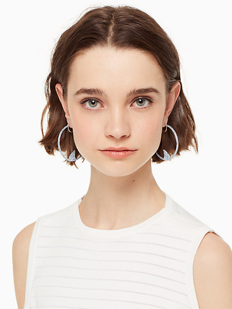 california dreaming pave shark hoops by kate spade new york