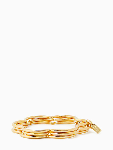 scrunched scallops stackable bangle set by kate spade new york
