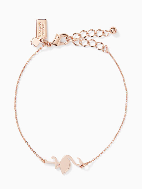 by the pool flamingo bracelet by kate spade new york
