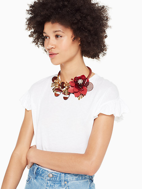slice of stone statement necklace by kate spade new york