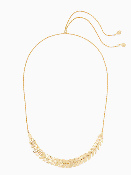 a new leaf slider necklace by kate spade new york