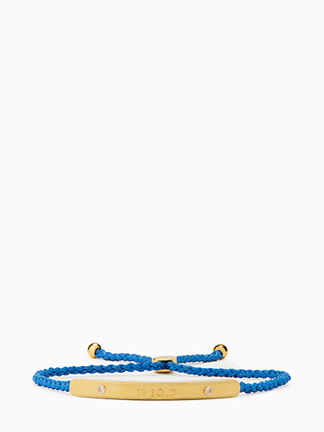 say yes be bold slider bracelet by kate spade new york