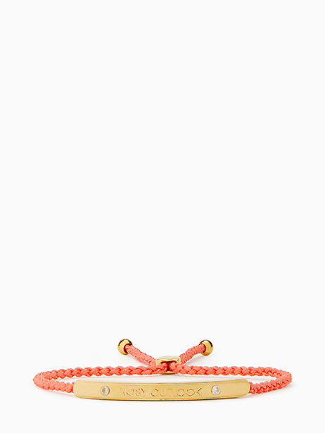say yes rosy outlook slider bracelet by kate spade new york