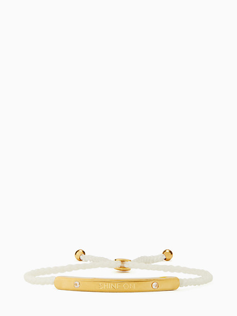 say yes shine on slider bracelet by kate spade new york