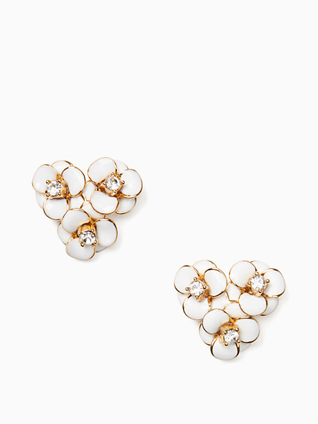 shine on flower cluster studs by kate spade new york
