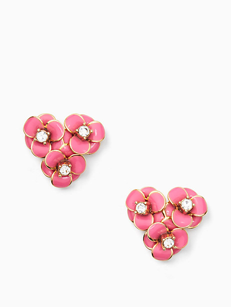 Kate Spade Shine On Flower Cluster Studs, Pink