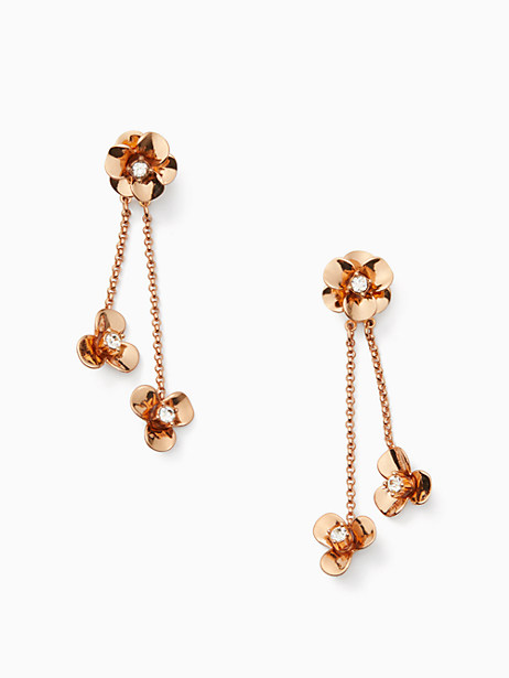 shine on flower ear jacket by kate spade new york