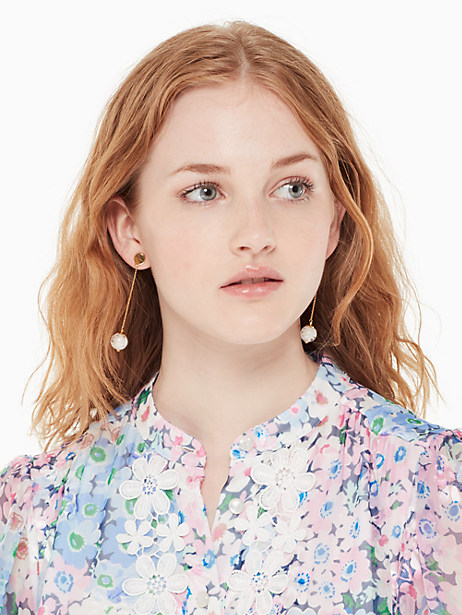 flying colors linear earrings by kate spade new york