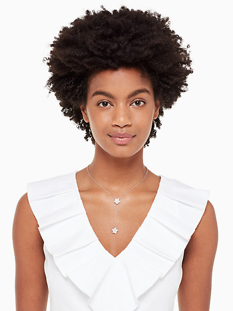 blooming pave bloom necklace by kate spade new york