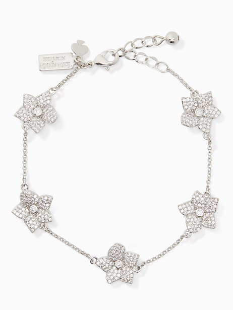 blooming pave bloom bracelet by kate spade new york