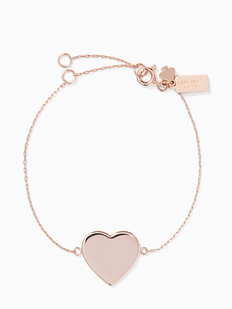 demi fine heart line bracelet by kate spade new york