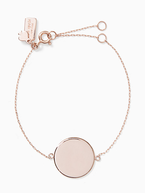 demi fine round line bracelet by kate spade new york