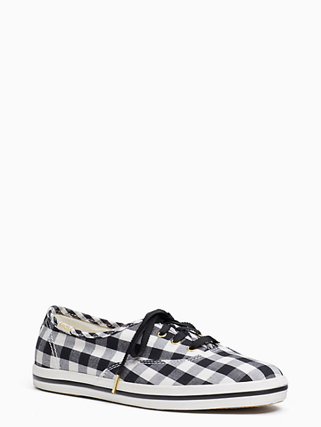 keds x kate spade new york gingham champion sneakers by kate spade new york