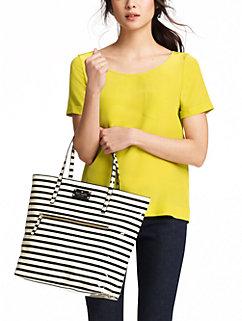 striped flicker bon shopper