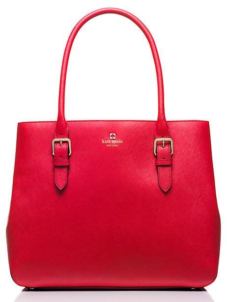 Kate Spade Cove Street Airel, Pillbox Red