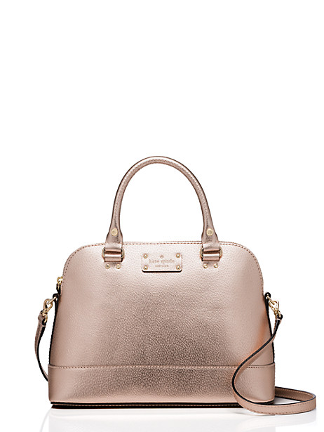 This gorgeous kate spade satchel is on sale for $129 - available in 6 colors *TODAY ONLY*