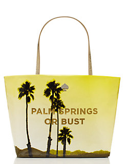 palm springs or bust small coal by kate spade new york