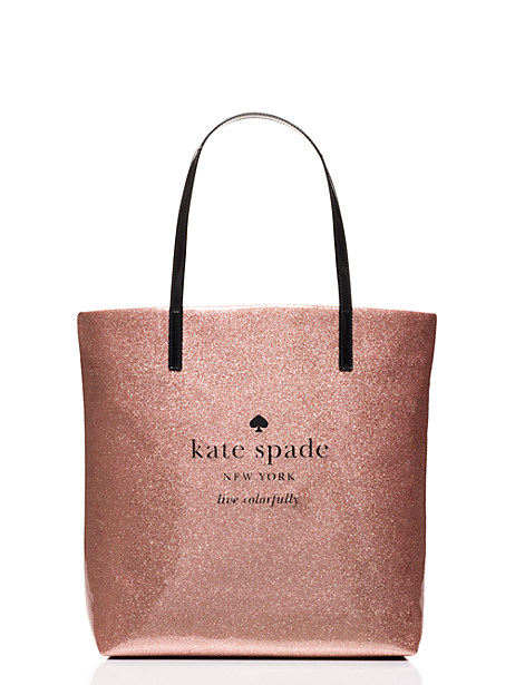kate spade glitter holiday shopper - only $59!